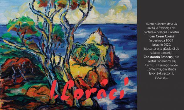 Expoziție de pictură a colegului nostru Ioan Cezar Corâci