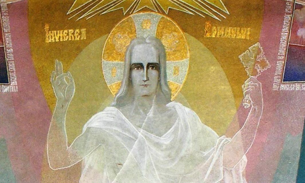 HRISTOS A ÎNVIAT! Învierea Domnului pictată de Arsenie Boca