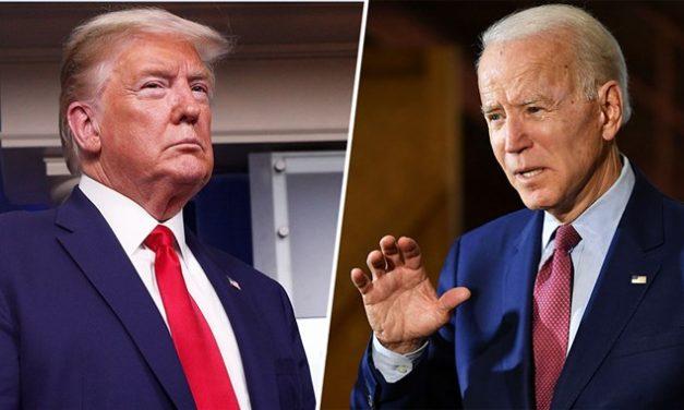 Alegerile americane: Joe Biden – 50%, Donald Trump – 36%. Dar şi Hillary Clinton a condus în sondaje!