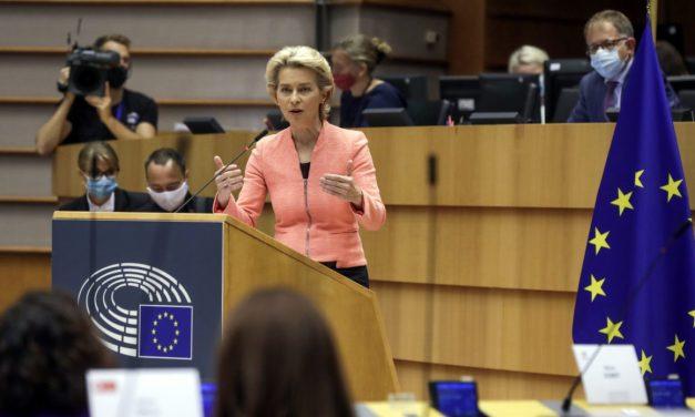 Ursula von der Leyen la primul discurs despre starea Uniunii