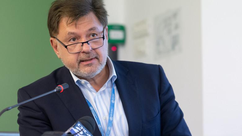 Alexandru Rafila critică Guvernul: Împărţirea în zone galbene, verzi şi roşii ar trebui să fie adaptabilă fiecărei şcoli