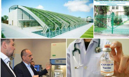 Cercetarea științifică și inovarea tehnologică în domenii de vârf. De exemplu, OncoGen și ROSA.