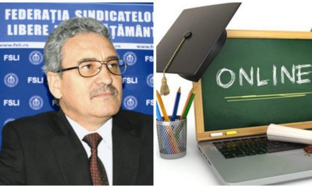 SIMION HĂNCESCU – Or, când discuți de predare tu, Guvern și Minister al Educației, trebuie să te asiguri că elevii din această țară pot participa la actul de predare.