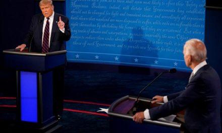 """Alegerile americane: Pentru Joe Biden comportamentul lui Donald Trump, în timpul dezbaterii a fost """"o ruşine naţională"""""""
