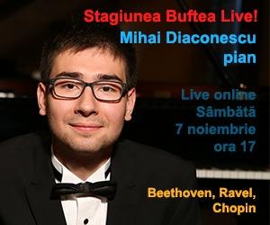 Concert live Mihai Diaconescu 7 noiembrie