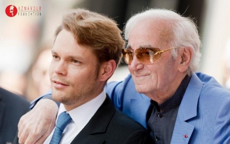 Nicolas, fiul lui  Charles Aznavour intervine pentru patria strămoșilor săi