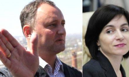 Maia Sandu câștigă alegerile din Republica Moldova