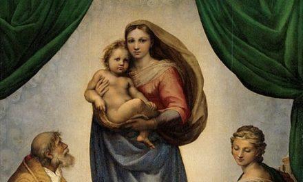 Știți care este cel mai celebru tablou reprezentând Madona? Știți cum este numit tabloul? Știți cine l-a pictat?