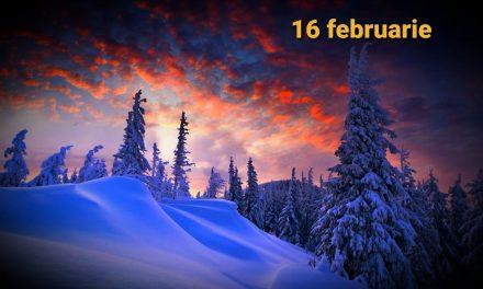 Istoria zilei – 16 februarie