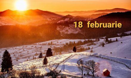Istoria zilei – 18 februarie