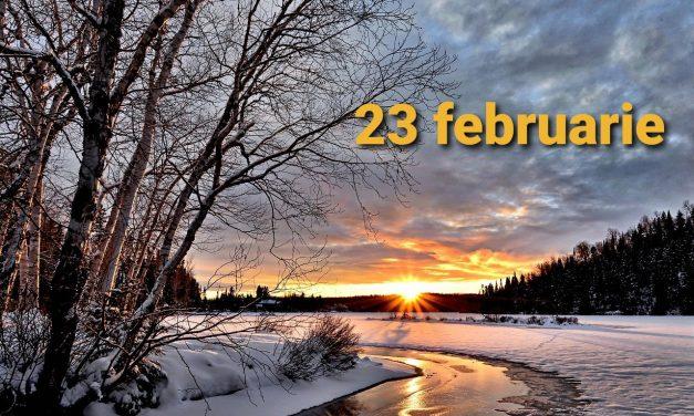 Istoria zilei – 23 februarie