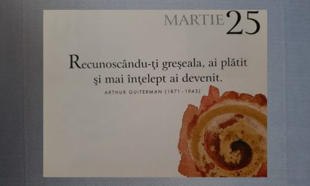 Istoria zilei – 25 Martie