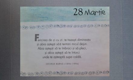Istoria zilei – 28 Martie