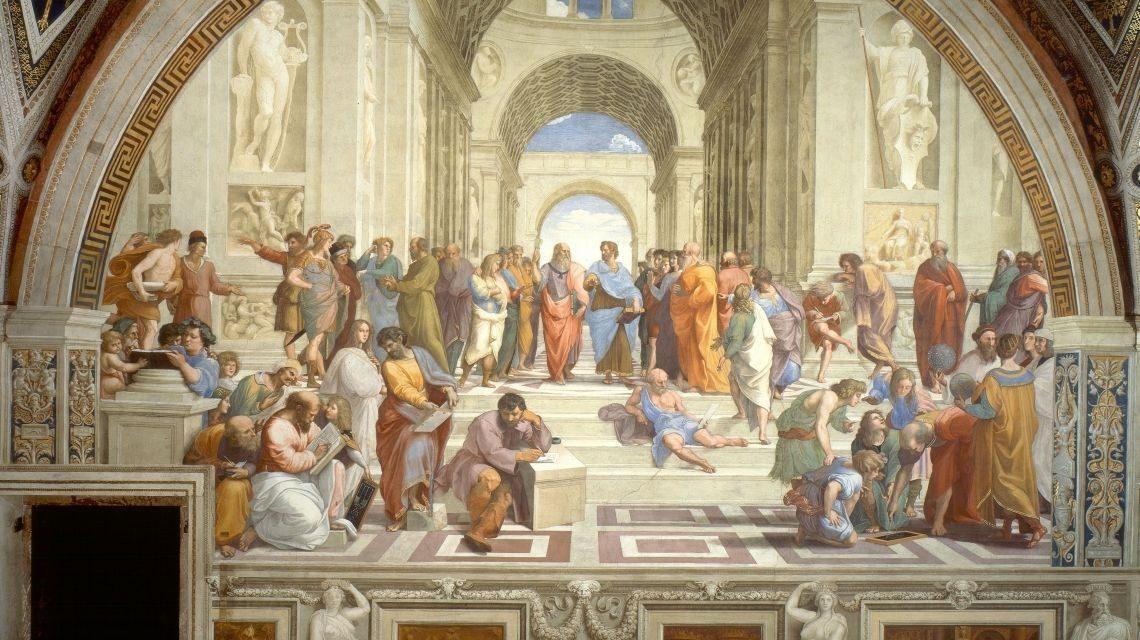Școala din Atena – O pictură cât o istorie (I)