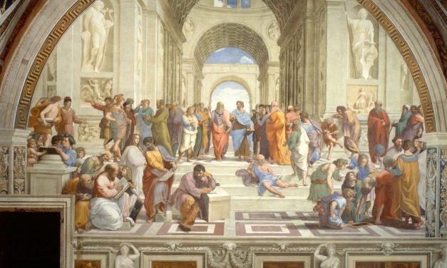 Școala din Atena – O pictură cât o istorie (II)