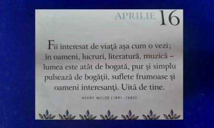 Istoria zilei – 16 Aprilie