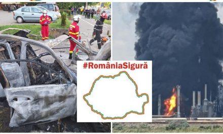 Mitul țării sigure (II): Explozie la Petromidia