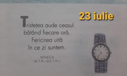 Istoria zilei – 23 Iulie