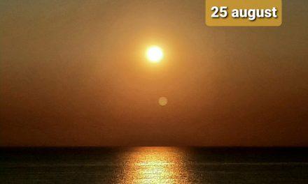 Istoria zilei – 25 August