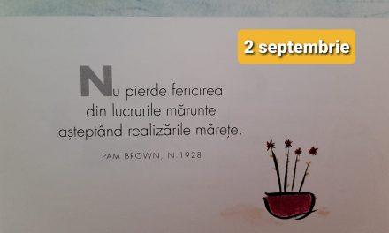 Istoria zilei – 2 Septembrie
