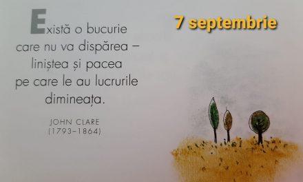 Istoria zilei – 7 Septembrie