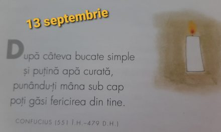 Istoria zilei – 13 Septembrie