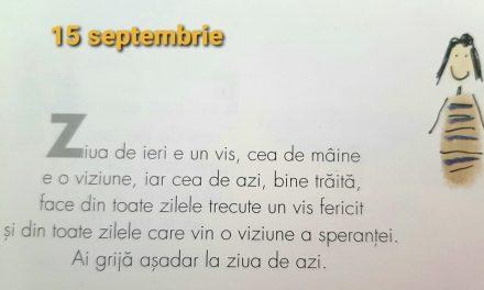 Istoria zilei – 15 Septembrie