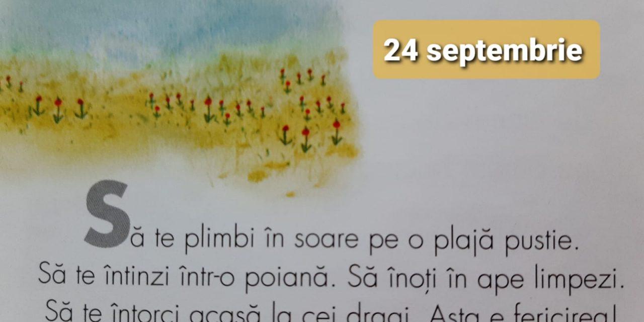 Istoria zilei – 24 Septembrie