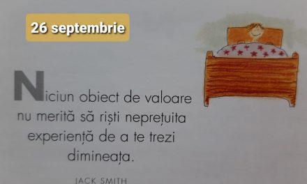 Istoria zilei – 26 Septembrie