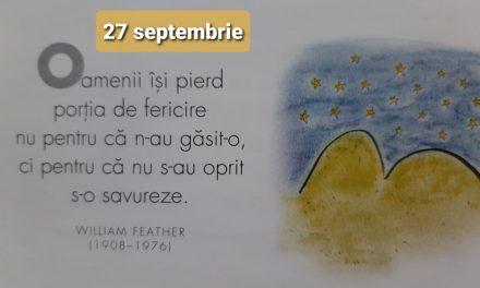 Istoria zilei – 27 Septembrie