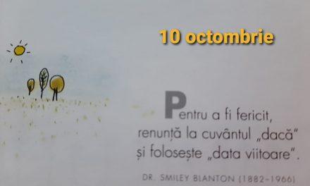 Istoria zilei – 10 Octombrie
