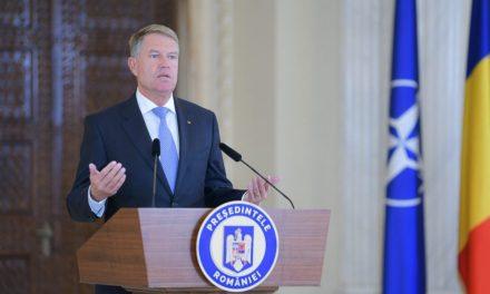 Klaus Iohannis nu exclude alegerile anticipate